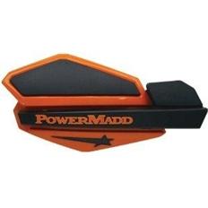 """Изображение Ветровые щитки для квадроцикла """"PowerMadd"""" Серия Star, оранжевый/черный"""
