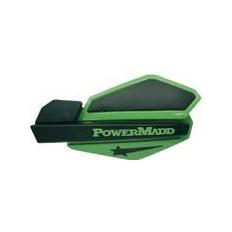 """Изображение Ветровые щитки для квадроцикла """"PowerMadd"""" Серия Star, зеленый/черный"""