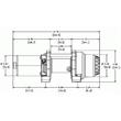 Изображение Лебедка для квадроцикла Warn Provantage 3000-S
