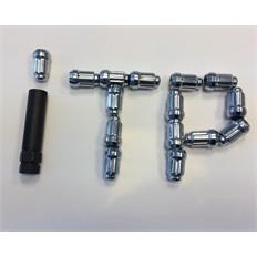 Изображение Гайки Alug20BX, комплект 16шт + ключ