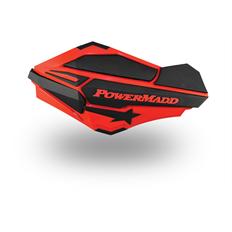 """Изображение Ветровые щитки для квадроцикла """"PowerMadd"""" Серия Sentinel, красный/черный"""
