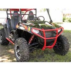 """Изображение Бампер для квадроцикла Polaris RZR900/RZR4-900 """"Quadrax"""" Elite черный, передний"""