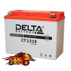"""Изображение Аккумулятор для квадроцикла """"Delta"""" CT 1218"""