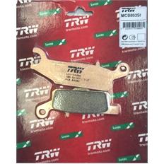 """Изображение Тормозные колодки Yamaha Grizzly """"TRW"""" (задние, левые)"""