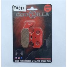 """Изображение Тормозные колодки для BRP G1, Suzuki """"Godzilla"""" правые"""