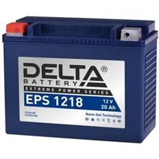 """Изображение Аккумулятор для квадроцикла """"Delta"""" EPS1218 (YTX20-BS)"""