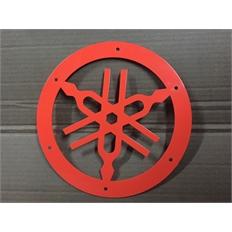 Изображение Камертон для выноса радиатора Litpro Yamaha Grizzly, оранжевый