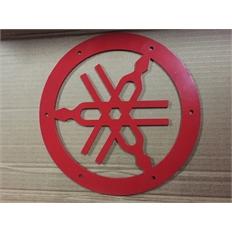 Изображение Камертон для выноса радиатора Litpro Yamaha Grizzly, красный