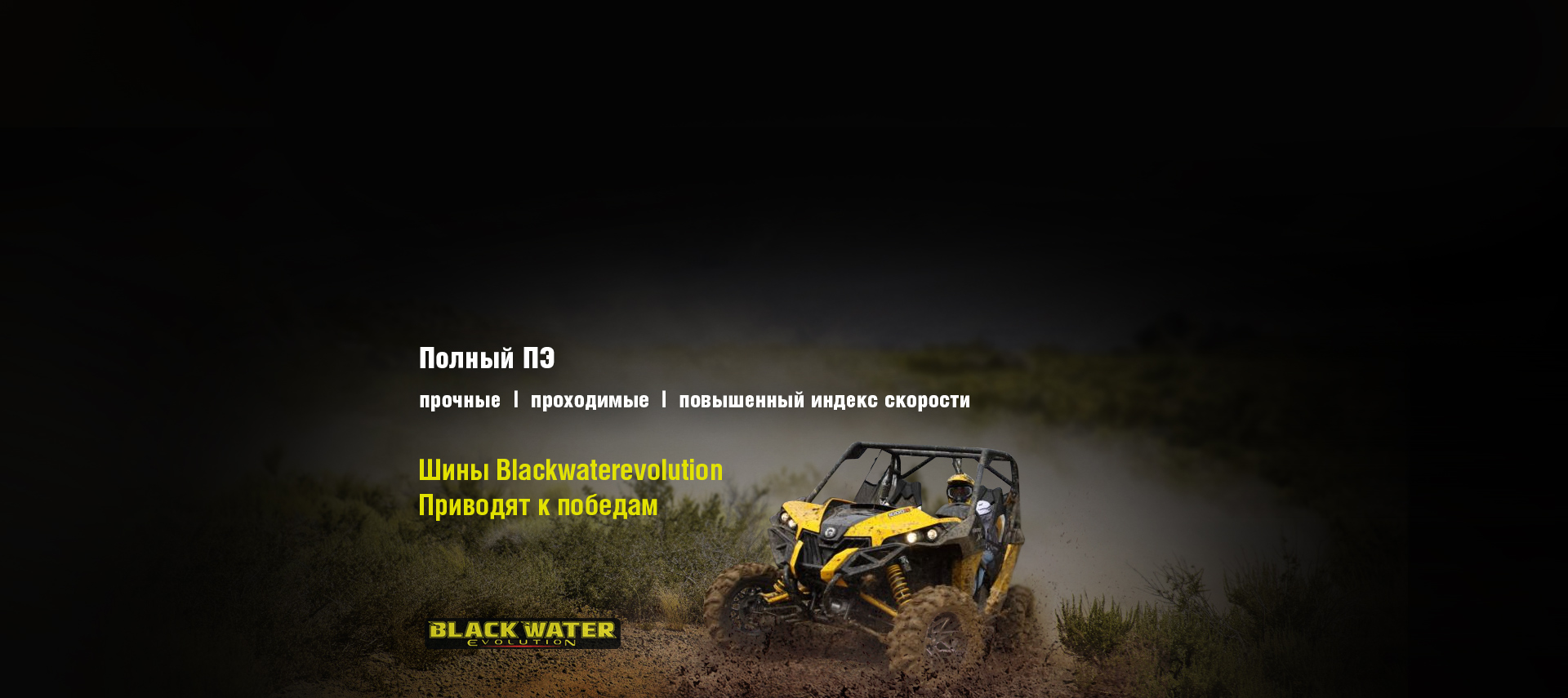 Шины ITP BLACKWATER EVOLUTION