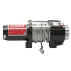 Изображение Лебедка электрическая Kimpex 2500 со стальным тросом (без проводки и площадки.)
